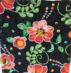 Modern Embroidery, Hand Embroidery, Bordados E Cia, Embellishments, Needlework, Cross Stitch, Arts And Crafts, Sewing, Fabric