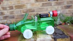 How to make a Car - Powered Car - Very Simple - http://www.thehowto.info/how-to-make-a-car-powered-car-very-simple/