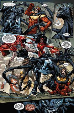 The Venom Site: superior spider-man 25 preview