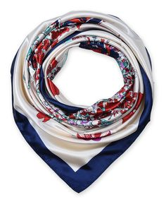 "corciova 35"" Women's Neckerchief Satin Smooth Scarf for Hair Wrapping at Night Navy $9.99 Free Shipping"