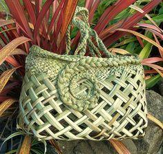 Flax Weaving, Basket Weaving, Woven Baskets, Nz Art, Art For Art Sake, Sisal, Flax Flowers, Cultural Crafts, Maori Designs