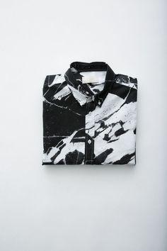 marble look shirt