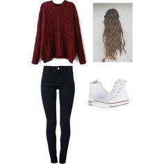 """""""SCHOOL OUTFIT"""" by bayleapottorff on Polyvore"""