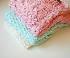 pullover trenza
