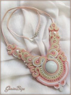 Necklace+pastel+soutache+by+GosiaBizu.deviantart.com+on+@deviantART