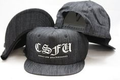 CSFU Skatebords Snapback Adjustable Plastic Snap Back Hat / Cap by STARTER, http://www.amazon.com/dp/B0096EMAGI/ref=cm_sw_r_pi_dp_ak.Xrb09F4YB6