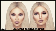 Alena Shishkova sims 4