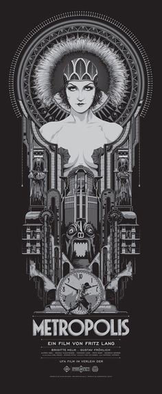 Ken Taylor - Metropolis poster.