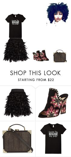 """""""Excuse The Bougie In Me"""" by mixthatfit on Polyvore featuring Alice + Olivia, Jimmy Choo and Aspinal of London"""