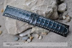 Custom Tag Heuer, Breitling, Panerai Dark Green Exotic Snake Leather Watch Strap - Any Size And Color to fit many watch models by ChristianStraps on Etsy Custom Tags, Watch Model, Tag Heuer, Breitling, Snake, Watches, Luxury, Trending Outfits, Unique Jewelry
