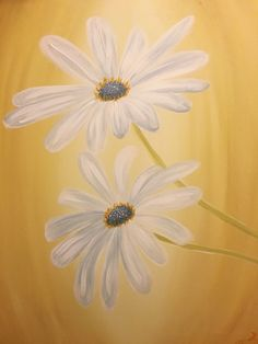 Paint Nite - Cape Daisies
