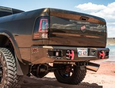 Dodge Ram HD (2010-2018) Steel Demon series rear bumper