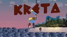 Travel To Crete Greece - Animated video