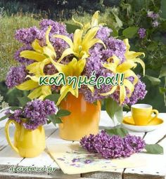 Good Morning, Table Decorations, Spring, Plants, Beautiful, Mornings, Easter, Night, Life