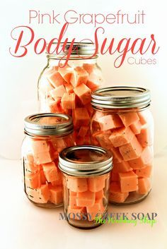 Pink Grapefruit Body Scrub - Recipe