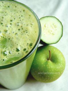 Apple Cucumber Juice   UnCruel Eats