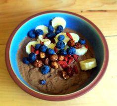 Recept: Romige Chocolade-Banaanpudding
