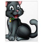 Black Cat Cartoon Character Plaque #halloween #happyhalloween #halloweenparty #halloweenmakeup #halloweencostume