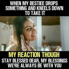 Funny Quotes For Teens Friendship New Ideas Best Friend Quotes Funny, Besties Quotes, Cute Funny Quotes, Funny Quotes For Teens, Friend Memes, Bffs, True Quotes, Funny School Memes, Crazy Funny Memes