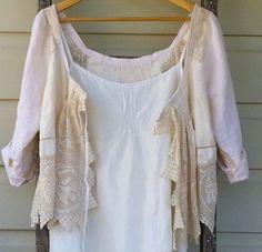 Vintage Linen Jacket Made to Order by MegbyDesign on Etsy, $175.00