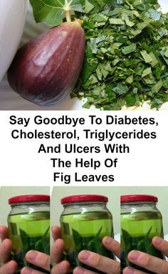 Don't Waste Time And Money: Say Goodbye To Diabetes, Cholesterol, Triglycerides And Ulcers With The Help Of Fig Leaves Natural Treatments, Natural Cures, Natural Health, Natural Medicine, Herbal Medicine, Holistic Medicine, Herbal Remedies, Health Remedies, Health And Wellness