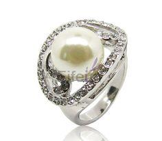 ivory pearl rings