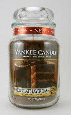 Yankee Candle Large Jar - limited Edition - Chocolate Layer Cake.  WOW, this Limited Edition Candle will have your mouth watering!  Simply to die for
