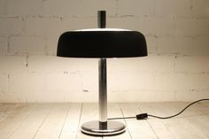 Mid-Century Teak and Metal Table Lamp from Hillebrand Leuchten, 1960s 7