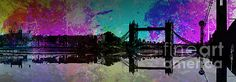 Tower Bridge Abstract