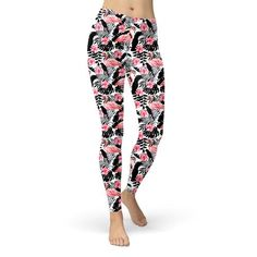Leggings Pink Flamingos – azleigh
