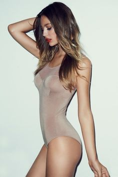 nude sheer bodysuit, excellent choice for #boudoir wardrobe piece