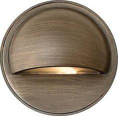 Hinkley Lighting Hardy Island One Light LED Outdoor Deck Light - Matte Bronze - Outdoor Ceiling Lights, Outdoor Hanging Lanterns, Outdoor Post Lights, Outdoor Lighting Landscape, Landscape Lighting Design, Patio Lighting, Deck Step Lights, Pond Lights, Round Eyebrows