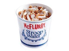 De unieke McFlurry Stroopwafel is een heerlijke oer-Hollandse traktatie. Proef het nu zelf bij McDonald's!