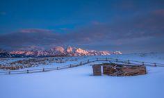"Cabin from the movie ""Shane"" -  Grand Teton National Park"