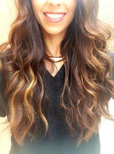balayage highlights | Summer Color ☀ #balayage #highlights #brunette ... | Hair do's/ Hair ...