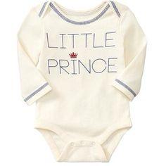 Little Prince Cream BodySuit