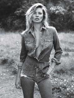 "Kate Moss in ""Super Normal Super Models"" by Mert & Marcus for W Magazine, September 2014. Description from pinterest.com. I searched for this on bing.com/images"