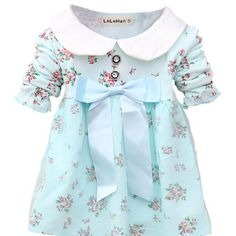 CMKid Baby Girls Infant Toddler Floral Bowknot Banded Waist Princess Dresses * You can get more details by clicking on the image.
