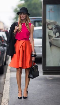 orange fashion 22 Orange you glad...Well ORANGE. (26 photos)