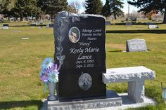 Memorial Monuments: Benches Unusual Headstones, Cemetery Headstones, Tombstone Designs, Cemetery Decorations, Cemetery Monuments, Funeral Planning, Famous Graves, Stone Statues, Headstone Ideas