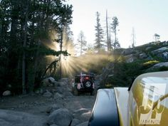 The Rubicon Trail. On the Bucket List for me and my Jeep. Jeep Jeep, Jeep Truck, Rubicon Trail, Jeep Trails, Jeep Photos, 4x4 Off Road, 4 Wheelers, Jeep Wranglers, Wheeling