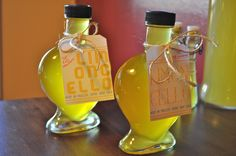 homemade limoncello & free label download.