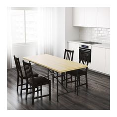 RYGGESTAD Table - Karpalund black - IKEA