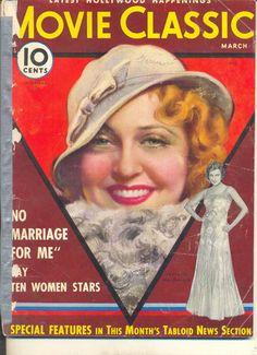 Jeanette MacDonald magazine cover, 1932