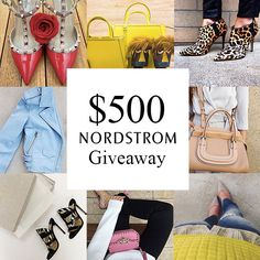 #NordstromLoopGiveaway  Visit my #instagram page and follow the directions for a chance to win!!  https://instagram.com/elegantlydressedandstylish/