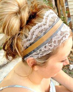 Womens Lace Headband