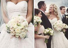 Patrick + Kimberly   Wine Country Garden Wedding   Defiance Missouri » Bliss Eleven www.lesbouquets.com