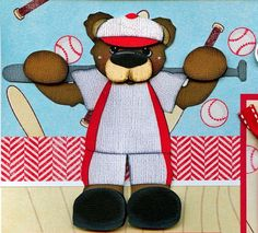 BASEBALL tball 2 Premade Scrapbook Pages paper piecing layout 4 album ~BY CHERRY