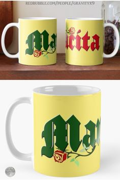 * Mexican Mamacita Roses Coffee Mug by #Gravityx9 at Redbubble * Mugs are available in three styles. * This Latina design is available on stickers, posters, home decor and more. * Mexican coffee mugs * Mexico Coffee drink ware * coffee mugs gift ideas * Hispanic gift coffee mugs * gift ideas coworker * gift ideas friends * gift ideas adults * gift ideas coffee lovers * #coffeemug #custommug #customcoffeemug #drinkware #drinkwares #mug #kitchenware #latino #latina #Mexican #Mamacita 0920