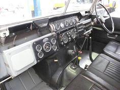 Land Rover Safari Series II dash inspiration